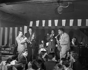 Tristano with Charlie Parker at Birdland 1949