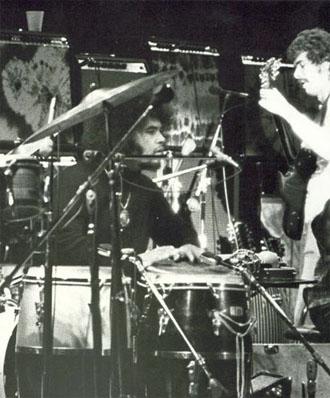 Mingo Lewis with Santana 1972