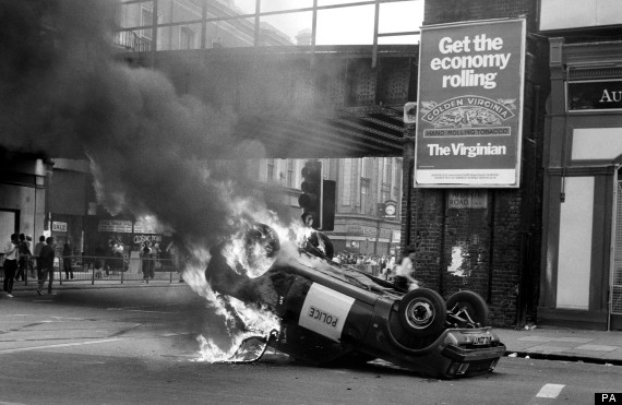 British Crime - Civil Disturbance - The Brixton Riots - London - 1981