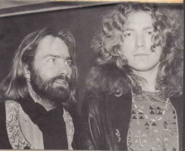 Roy Harper with Roger Plant