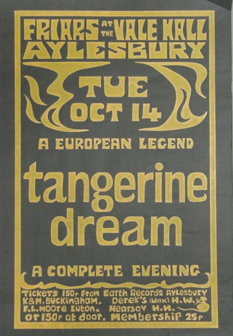Tangerine Dream Friars Club