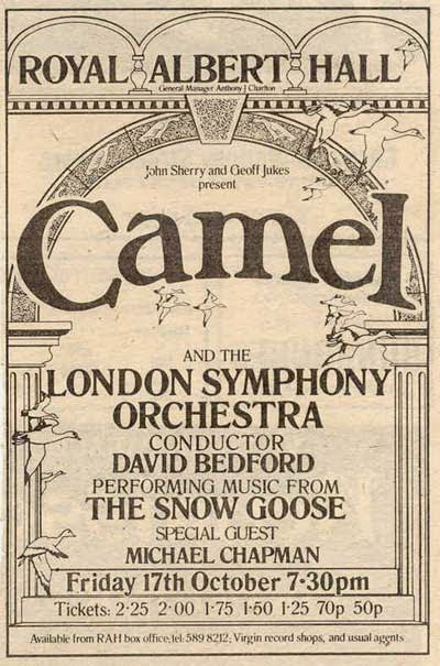 Camel Royal Albert Hall 1975