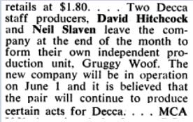 Billboard May 1971