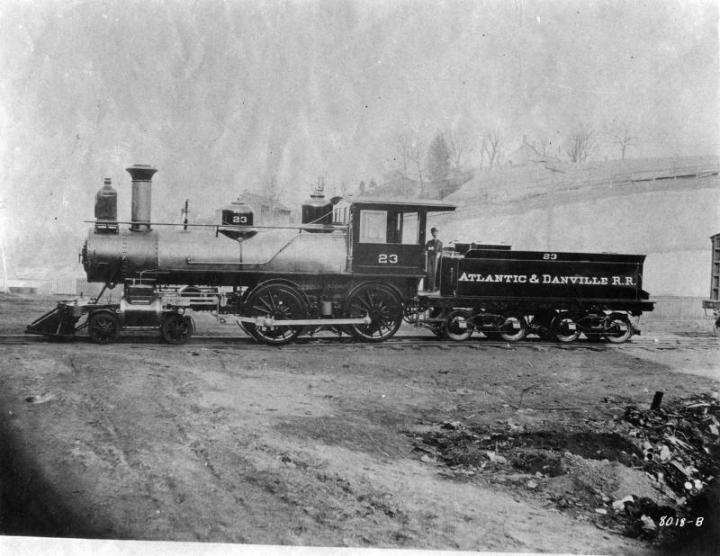 Atlantic and Danville RR