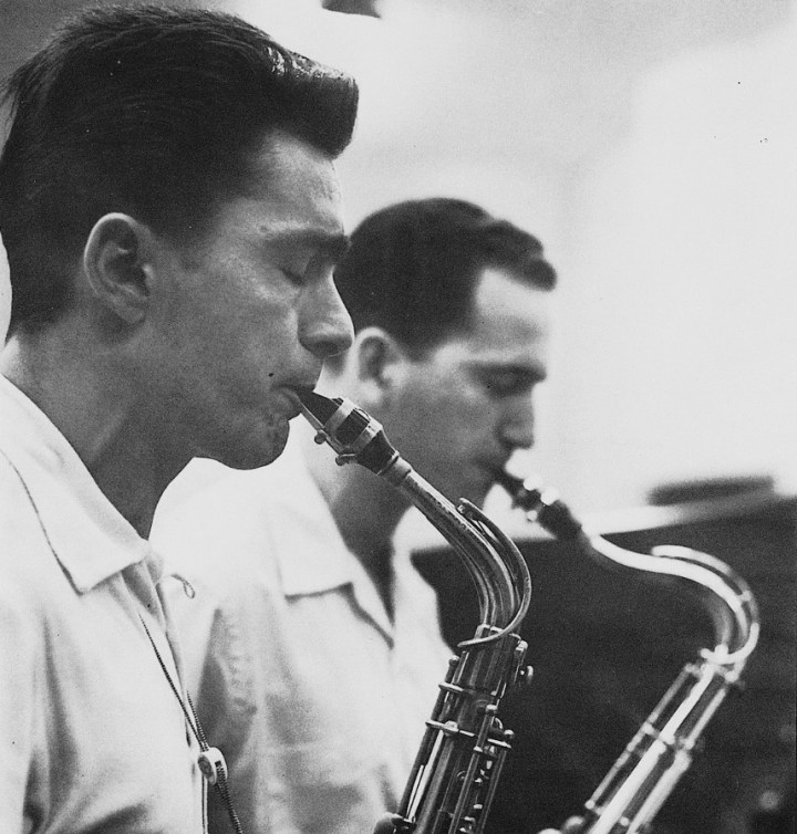 Art Pepper and Jack Montrose 1954