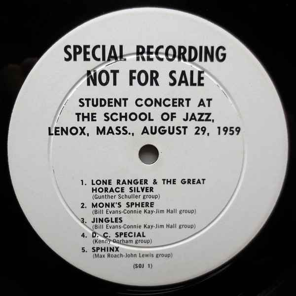 Lenox School Jazz 1959 LP