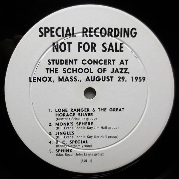 Lenox School Jazz 1959 LP