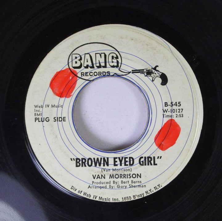 Brown Eyed Girl single