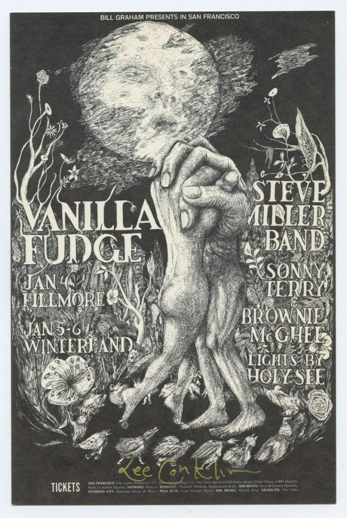 Portadas/ilustraciones de discos y carteles de conciertos Vanilla-Fudge