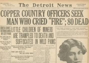 1913 massacre headline
