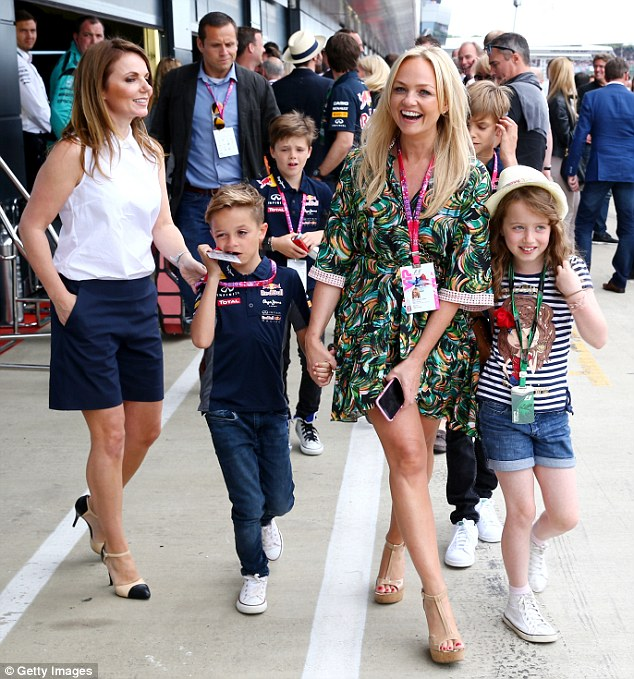 Geri Halliwell e Emma Bunton - Formula 1