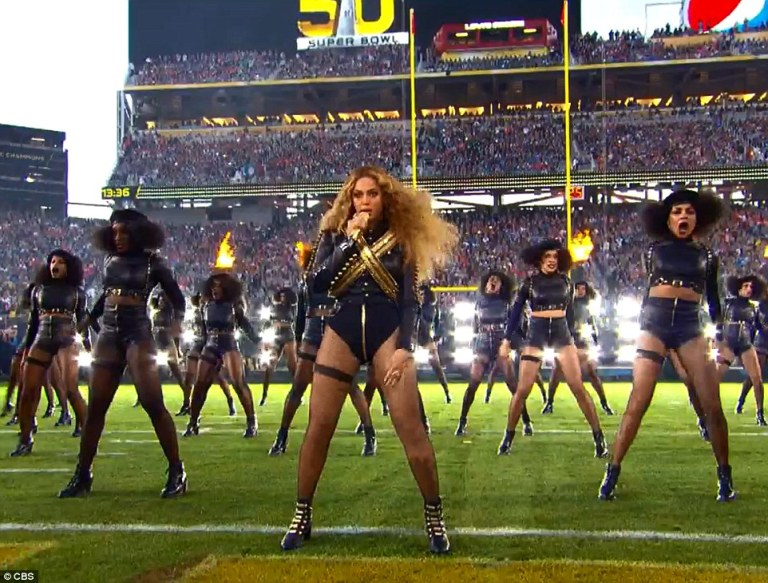 Beyonce Formation SuperBowl Performance