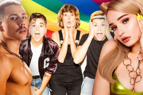 Artistas LGBTQIA+ da nova geração