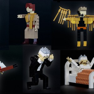 100 LEGO versions of David Bowie