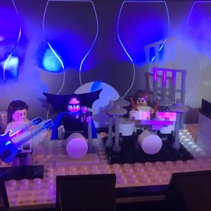 The lighted Lego Stage (Guest Post)