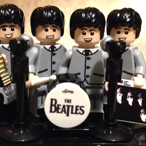 The Beatles 'With the Beatles' in LEGO