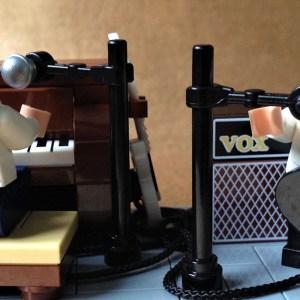 The Beatles 'Lennon & McCartney' in LEGO