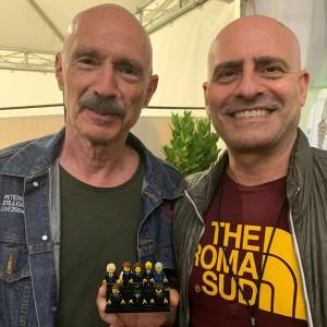 Alessandro meets Tony Levin