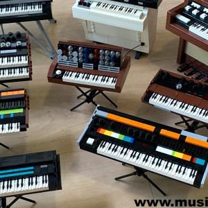 Awesome Lego Keyboard Synthesizers