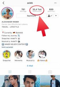 Instagram Axlek