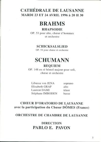 3ter - 1996-04-23+24 Concert Suisse Lausanne Programme p1