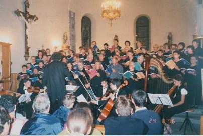 5 - 1996-08-25 Stage été Concert Chamalières Photo