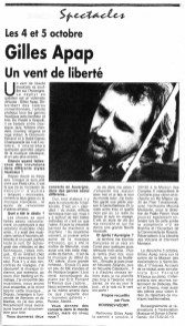 _1 - 2003-10-04 Concert Clermont-Ferrand Article Info