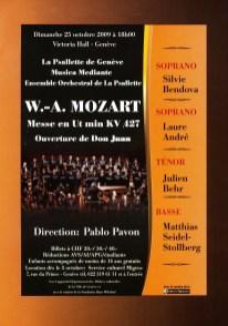 _2009-10-25 Concert Suisse Genève Flyer