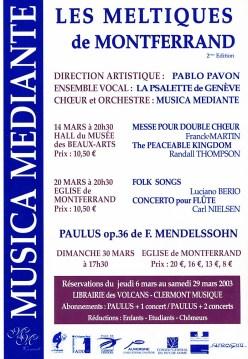 _5 - 2003-03-14+20+30 Meltiques Clermont-Ferrand Flyer