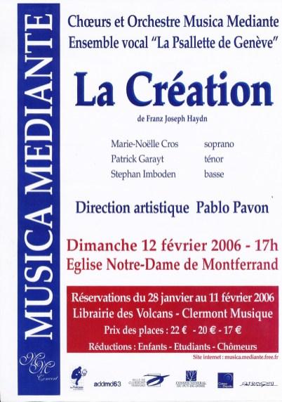 _6 - 2006-02-12 Concert Clermont-Ferrand Affiche
