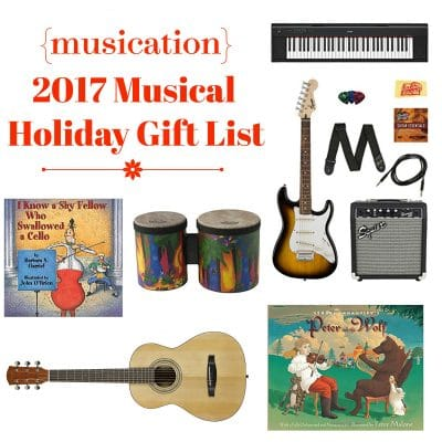 Musical Holiday Gift List