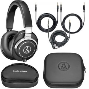 Audio-Technica.ATH-M70x bags and cables