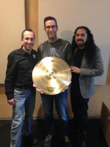 """Con Scott Paeth, el profesor de batería ganador del platillo AAX 21"""" Stage Ride"""