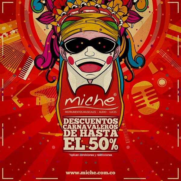 Descuento Carnavalero Miche