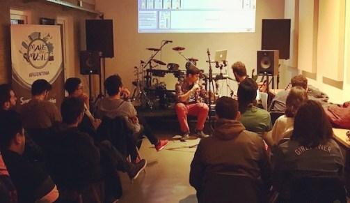 Workshop dbdrums BSQ Music Hub copia
