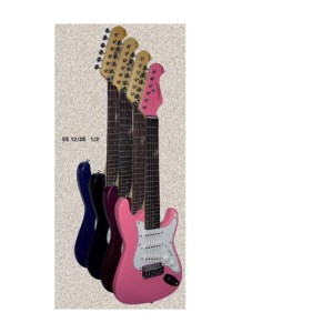 Guitarra electrica infantil 1/2 TANGLEWOOD TW EE12/S rosa