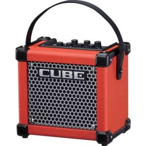 amplificador roland micro cube gx red