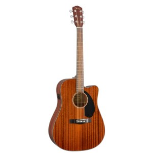 Guitarra acústica fender cd 60xce all mahogany