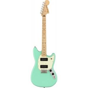 Guitarra eléctrica fender player mustang 90 seafoam green mn