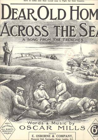 Nearly Christmas in the trenches. A1914.402