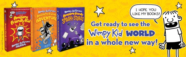 Get ready to see the Wimpy Kid world in a whole new way