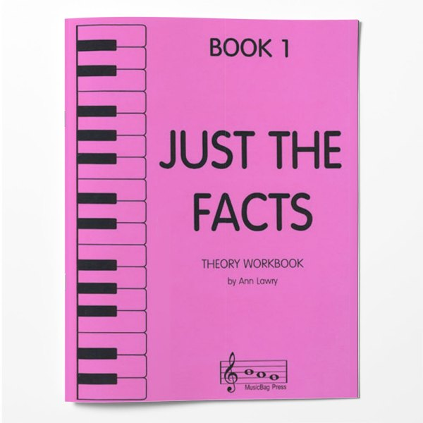 Piano Theory Worksheets Piano Theory Workbook Book 1 Just The Facts