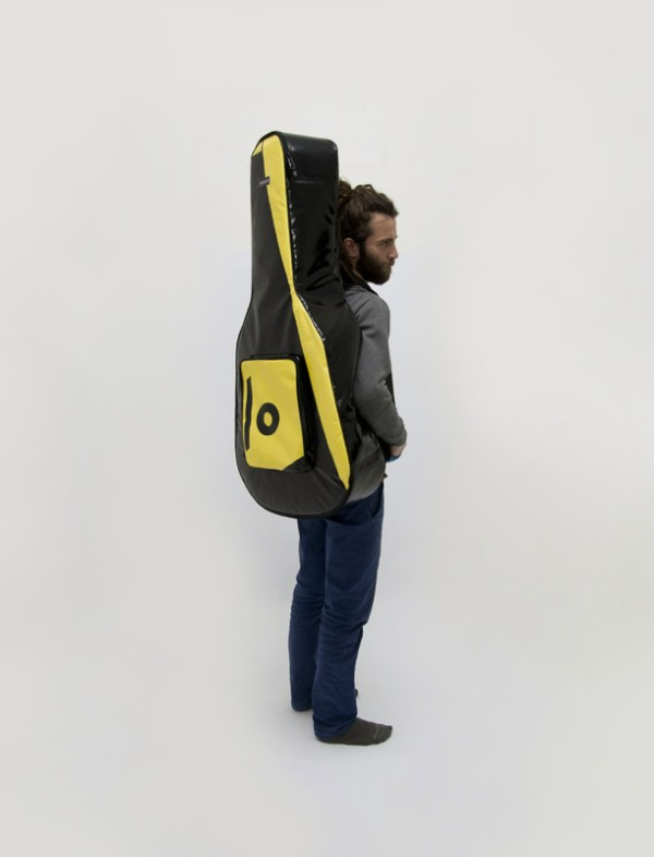 eco handcrafted acoustic guitar bag music bags.crea-re.com