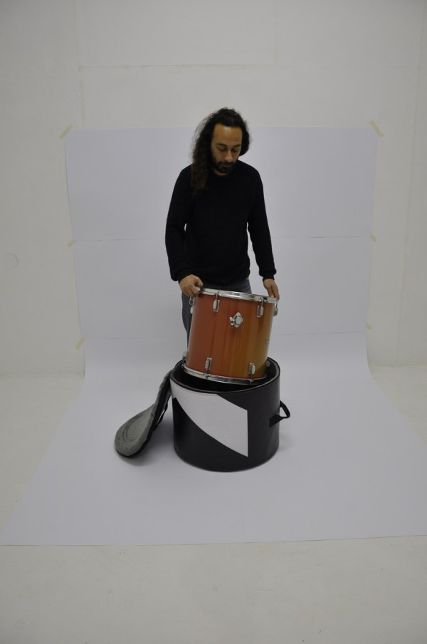 Floor tom bag from handcrafted drum set bag by music bags.crea-re.com b