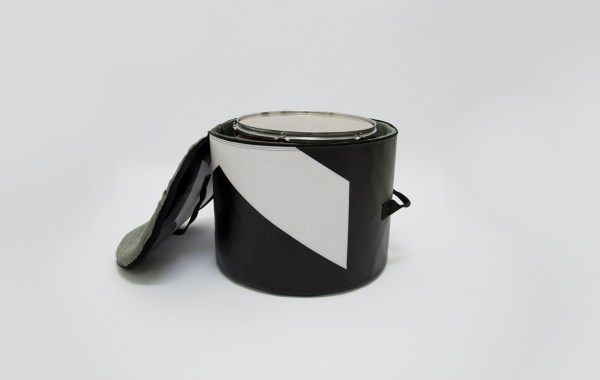 Floor tom bag from handcrafted drum set bag by music bags.crea-re.com 5