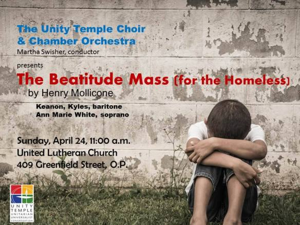 Beatitude Mass for the Homeless