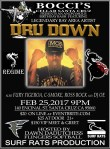 DRU DOWN PERFORMING LIVE IN SANTA CRUZ