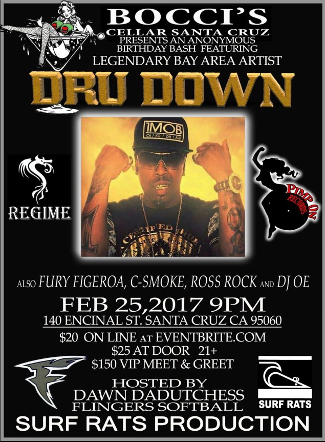 dru down live in concert