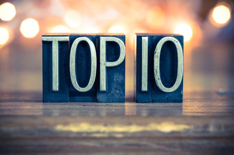 Top 10…1/5 'till 16/5
