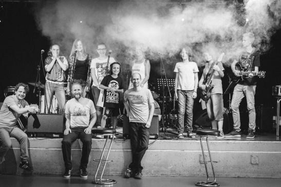 Bandklasse und Dozenten - Get Started 2016